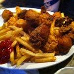 Shrimp & oyster platter
