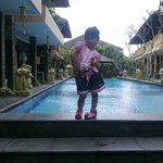 @pesona bamboe hotel pool side
