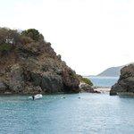 180 Snorkeling at Monkey Point, Guana Island April 30