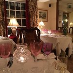 Romantic dining at Arundel House West Sussex