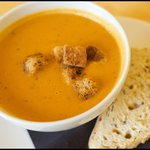 Homemade soup of the day!  The Courtyard Bar & Restaurant, Kenmore