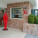 entrée hôtel  Donibane