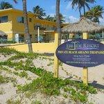 EbbTide Resort from the Beach