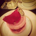 Marie Antoinette rose cake