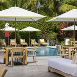 Onsite Poolside Dining at Cafe Blue