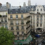 Duplex - View across Blvd St Germain