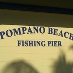 Fishing Pier Sign