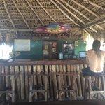 Freddy at the beachside bar