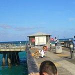 Back of Fishing Pier