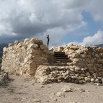 Tower at the highest point at Tel Hazor