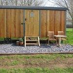 Suffolk shepherd's hut