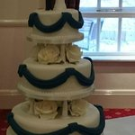 Our Wedding Cake from Empire Cupcakery