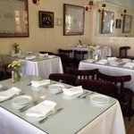 The very welcoming dining room