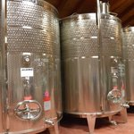 Inside Brigaldara Winery where their wines are produced ...