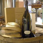Prosecco wine at Tessari ... lovely displays