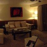 Honeymoon suite 9067 living room