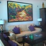 Living room, suite 128