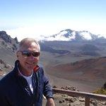 The top of Haleakela