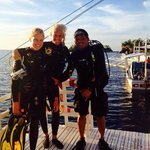 Last morning dive with amazing divemaster Balt!