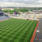 Croke park pitch from Viewing deck