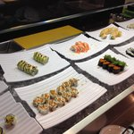 Little sushi, but hey, it's a buffet!