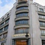 Louis Vuitton on Champs Elysees