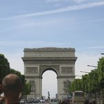 Arc de Triomphe from Champs Elysees