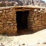 Village néolithique de Beidha : habitation reconstituée