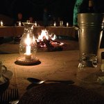 Delicious and lovely dinner at the Boma