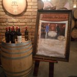 Castle wine barrel for sale