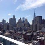 Vue du 19ème sur sud de Manhattan