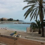 The beach in Monaco