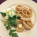 Calamari with Lemon Aioli!