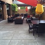 patio outside bar