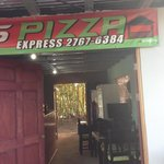Great Pizza at Tortuguero town