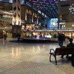Interior of mall