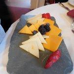 Granddaughter's Fruit n Cheese platter