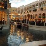 Shopping & gondola ride