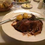 duck with ginger gravy