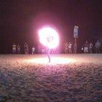Fire Dancer at Nikko Bar