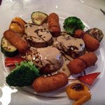 Pork filet with peppercorn sauce - really good