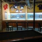 Dart boards downstairs bar