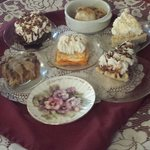 Wonderful desserts! Home-made pies!