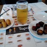 excellent tapas and good service