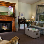 The sitting room of our Julia Bulette Suite