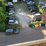 il nostro parcheggio privato