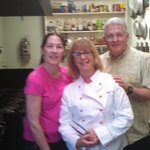 Kay, Me. and Chef Alan