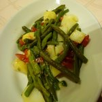 tender green beans and potatoes