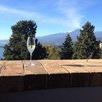 Champagne ao café da manhã : Um brinde ao Etna !