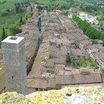 Blick nach Süden über die Via S. Giovanni